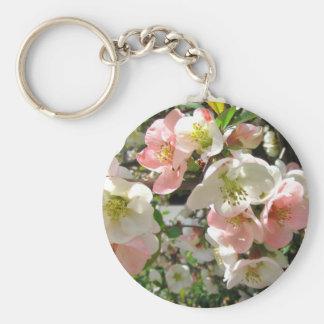Peaches and Cream ~ keychain