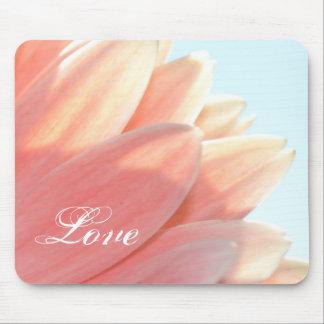 Peaches and Cream-Love Mousepad