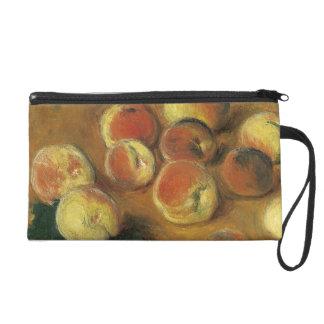 Peaches by Claude Monet Wristlet