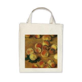 Peaches by Claude Monet Bag