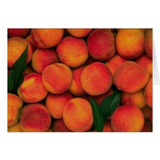 Peaches Card