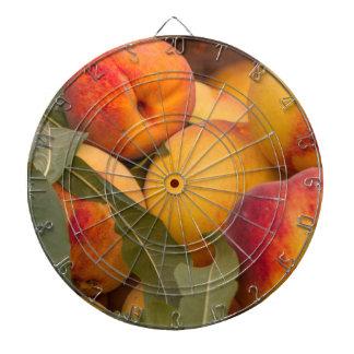peaches dartboard