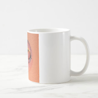 peaches in the extrude coffee mug