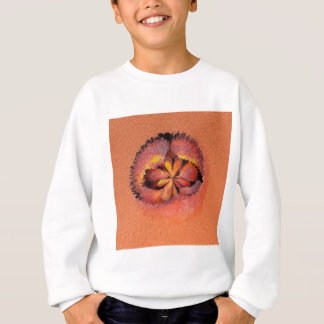 peaches in the extrude sweatshirt
