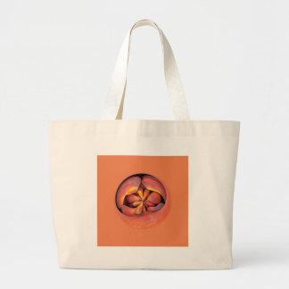 peaches in the globe bags