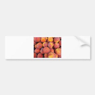 peaches Just in the globe Bumper Sticker