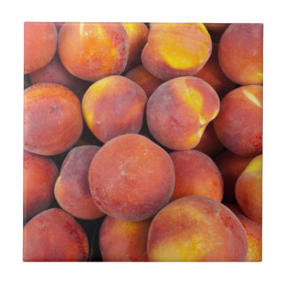peaches Just in the globe Tile