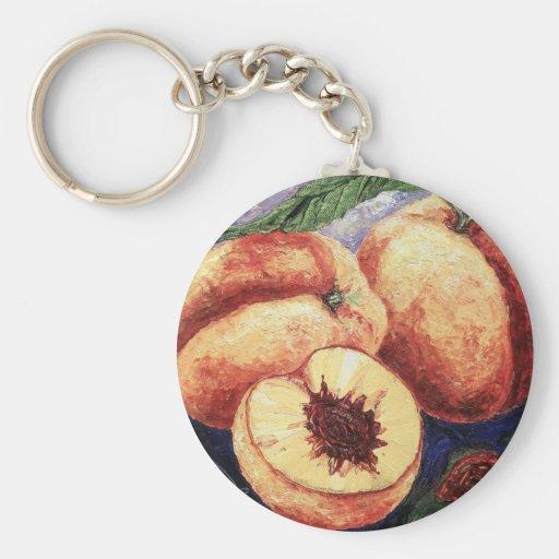 Peaches Keychains