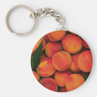 Peaches Key Ring