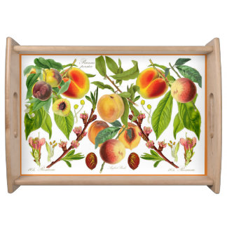 Peaches Large Serve-Tray (You can customize) Serving Tray