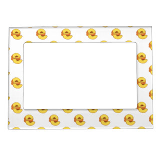 Peaches Pattern Magnetic Picture Frame