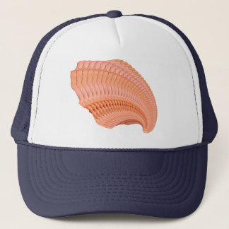 PeachRoseFractal Trucker Hat