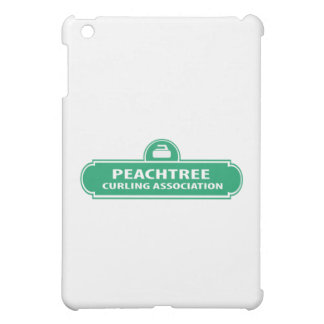 Peachtree Curling Logo iPad Case