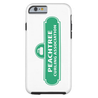 Peachtree Curling Logo iPhone 6 Case