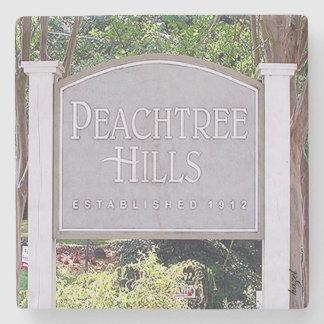 Peachtree Hills, Atlanta, Georgia , Coasters Stone Coaster