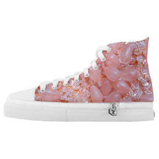 Peachy Bangles & Beads High Tops