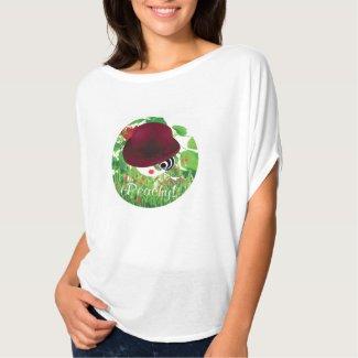 'Peachy' Grass Girl TShirt
