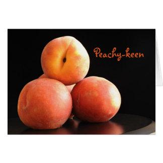 Peachy-keen Card