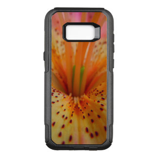 Peachy Pink Up Close Lily OtterBox Commuter Samsung Galaxy S8+ Case