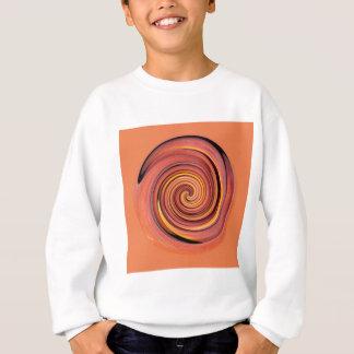 Peachy twirl sweatshirt