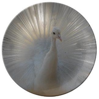 "Peacock 10.75"" Decorative Porcelain Plate"