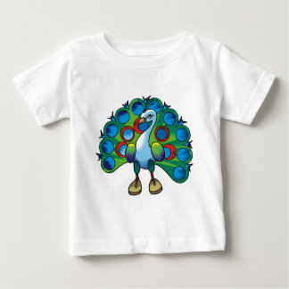 Peacock 2 baby T-Shirt