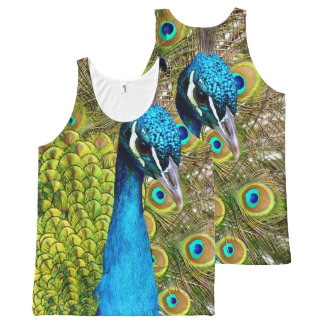 Peacock 3 All-Over print tank top