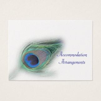 peacock accomodation inserts