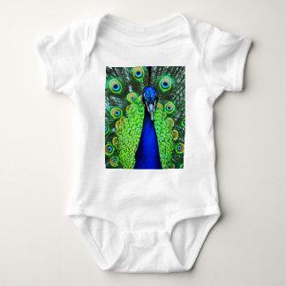 Peacock Baby Bodysuit