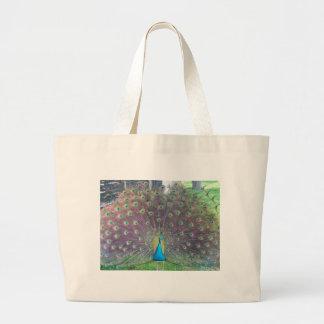 Peacock Canvas Bags