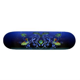 Peacock Bass Splash Skate Deck
