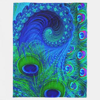 Peacock Blanket