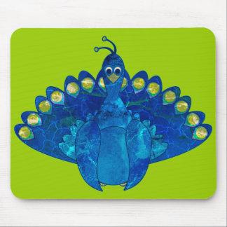 Peacock Blu Mouse Pad