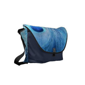Peacock Blue Courier Bags