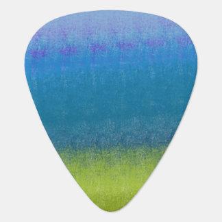 Peacock Blue Guitar Pick