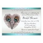 Peacock Bridal Shower Announcement