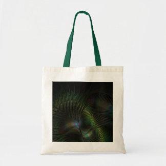 Peacock Budget Tote Bag