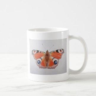 Peacock Butterfly 2012 Coffee Mug