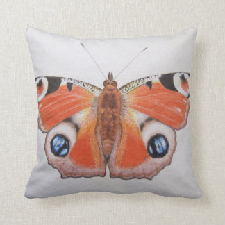 Peacock Butterfly 2012 Cushion