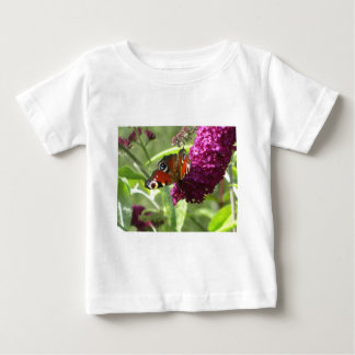 Peacock Butterfly Baby T-Shirt