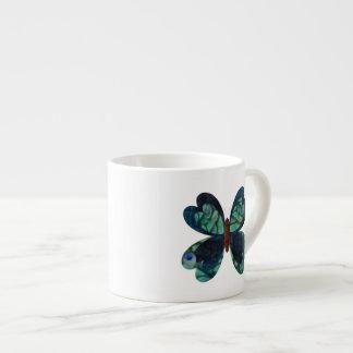 Peacock Butterfly Espresso Mug