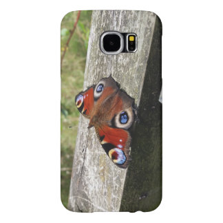Peacock Butterfly Galaxy S6 Case