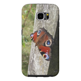 Peacock Butterfly Galaxy S6 Tough Case