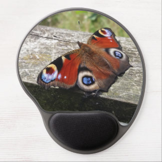 Peacock Butterfly Gel Mouse Mat
