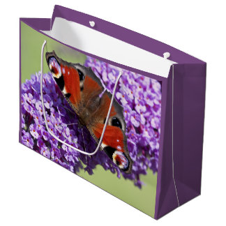 Peacock Butterfly Gift Bag