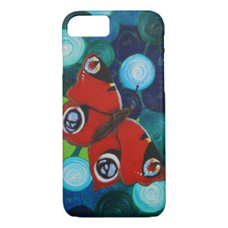 Peacock Butterfly iPhone 8/7 Case