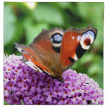 PEACOCK BUTTERFLY NAPKINS