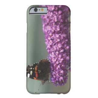 Peacock butterfly on flower barely there iPhone 6 case