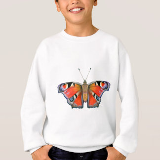 Peacock Butterfly Painting Watercolour Sweatshirt