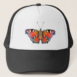 Peacock Butterfly Painting Watercolour Trucker Hat